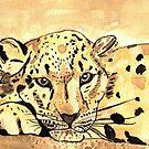 Snow Leopard by Dawn B Davies-McIninch