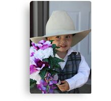 Future Groom Canvas Print