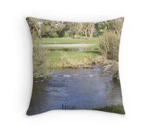 Werribee River Throw Pillow