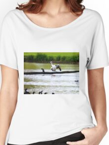 Watch carefully, you put one wing up and you shake it all about ---- Women's Relaxed Fit T-Shirt