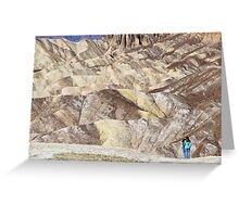 Death Valley 4/5 Greeting Card