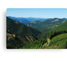 Long Distance Vista Canvas Print