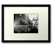 Pinhole II Framed Print