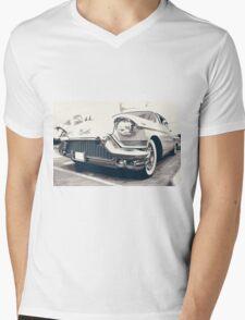 Cadillac Mens V-Neck T-Shirt