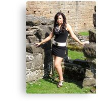 Standing in Ruins Canvas Print