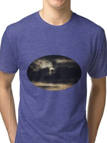 Dark Full Moon Tri-blend T-Shirt
