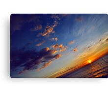 From End To End Canvas Print
