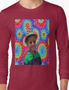 Peace Ayeeden Tie Dye Long Sleeve T-Shirt