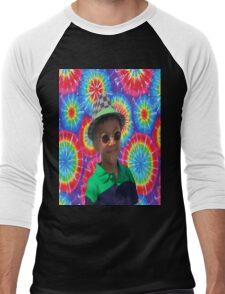 Peace Ayeeden Tie Dye Men's Baseball ¾ T-Shirt