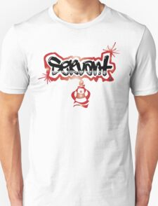Guys Graph Servant Design Unisex T-Shirt