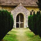 Barsham Church Entrance by GraceEloise