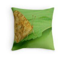 green makes colour Throw Pillow