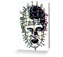 Psychedelic Pinhead  Greeting Card