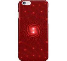 Red Christmas Decoration - Fractal 2 iPhone Case/Skin