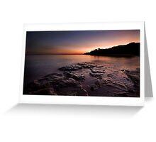 Fannie Bay rocks.  Greeting Card