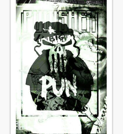 Pun. Sticker