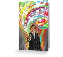 Satoru Iwata: Heart of a Gamer (Image Only) Greeting Card