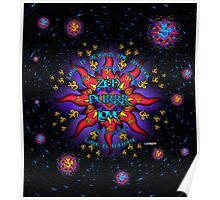 INFINITE LOVE GALACTIC OMMM BLOSSOM Poster