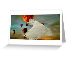 I've got wings Greeting Card