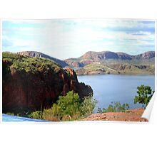 Lake Argyles Beautiful Landscape Poster
