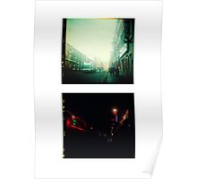 China Town Lights Poster