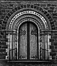 St Andrew's Door by Vince Russell