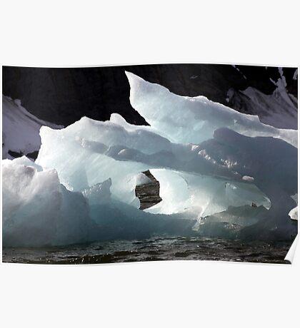 Icebergs Ahead Poster