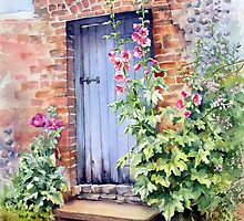 Blue Door at Arundel by Ann Mortimer