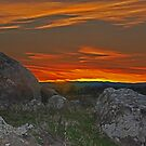 Wiradjuri Country Sunset HDR by bazcelt