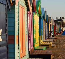 'Beach Shacks' by Luke Weinel