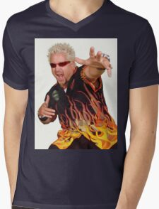 Guy Fieri Mens V-Neck T-Shirt