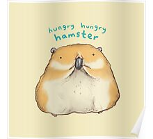 Hungry Hungry Hamster Poster