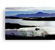 Clew Bay, Co Mayo, Ireland Canvas Print