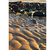 South Coast Sandscape Photographic Print