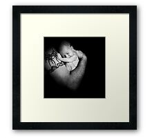 the sweetest bond........... Framed Print