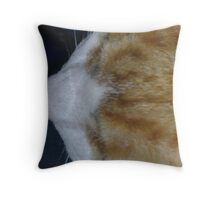 Cuddles - close up Throw Pillow