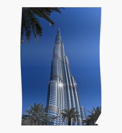 Burj Khalifa Dubai Mall, Dubai Poster