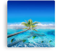 Post Card from Polynesian   Canvas Print