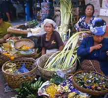 Flower Sellers by Werner Padarin