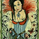 Wood Witch Tanit by morgansartworld