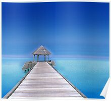 Relax at the Beach  Poster