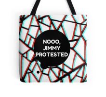 Louis Tomlinson - Noooo Jimmy Protested Tote Bag