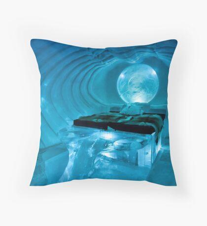 Blue Marine Throw Pillow
