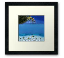 Post Card from Tahiti Framed Print
