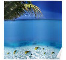 Post Card from Tahiti Poster