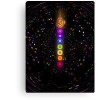 CHAKRA COSMIC CONNECTION Canvas Print