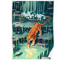 Golden Tiger Poster