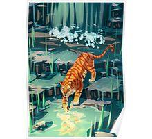 Golden Tiger Poster