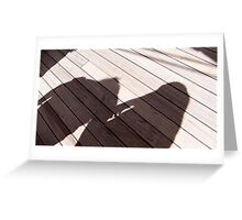 Walking the Planks Greeting Card