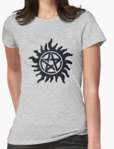 Supernatural tattoo Womens Fitted T-Shirt